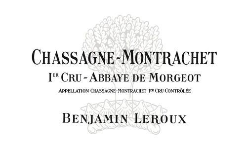 Leroux/Benjamin Chassagne-Montrachet 1er cru Abbaye de Morgeot 2018