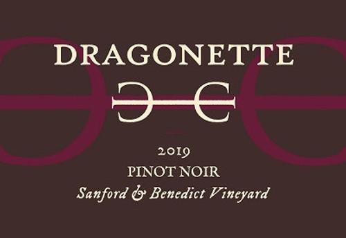 Dragonette Pinot Noir Sta. Rita Hills Sanford & Benedict Vineyard 2019