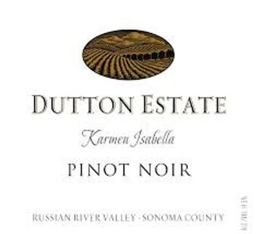 Dutton Estate Pinot Noir Russian River Valley Karmen Isabella 2018