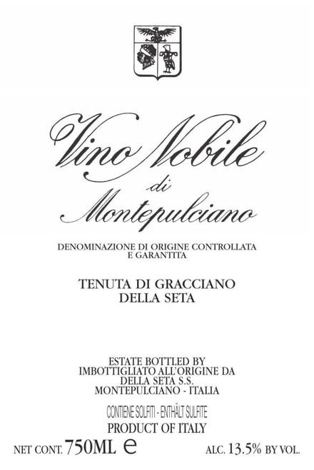 Tenuta di Gracciano della Seta Vino Nobile di Montepulciano 2016