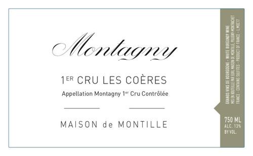 De Montille (Maison) Montagny 1er cru Les Coères 2018