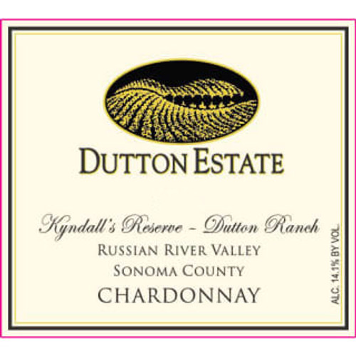 Dutton Estate Chardonnay Russian River Valley Kyndall's Reserve 2018