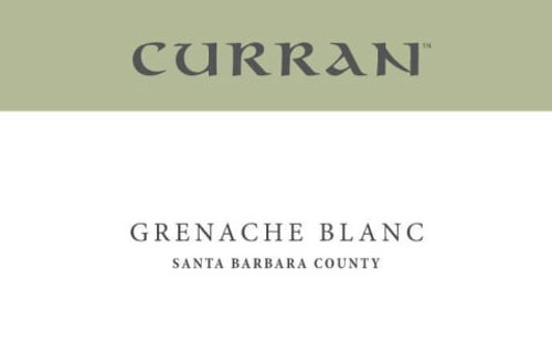 Curran Grenache Blanc Santa Barbara County 2020