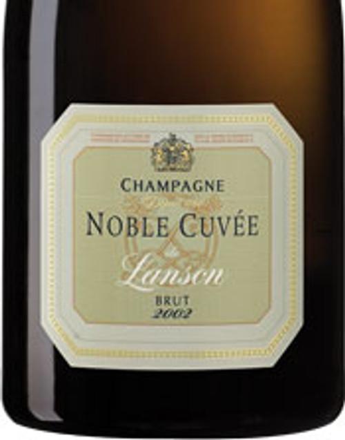 Lanson Brut Champagne Noble Cuvée 2002