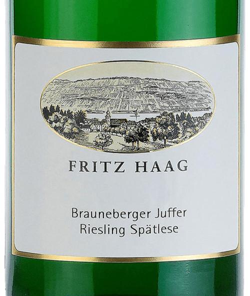 Haag/Fritz Riesling Spätlese Brauneberger Juffer 2019