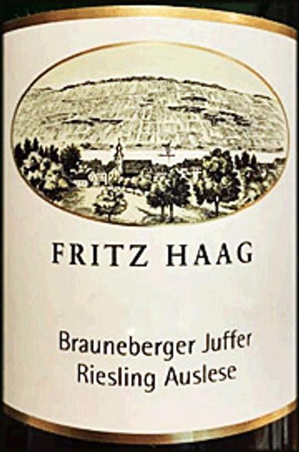 Haag/Fritz Riesling Auslese Brauneberger Juffer 2019