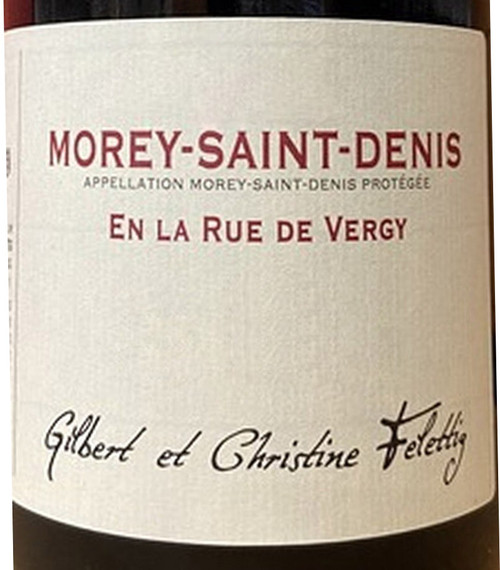 "Felettig Morey-St-Denis ""En la Rue de Vergy"" 2019"