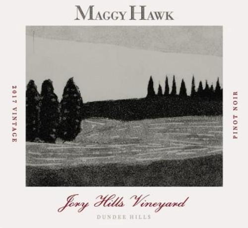 Maggy Hawk Pinot Noir Dundee Hills Jory Hills Vineyard 2017