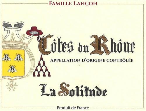Domaine de la Solitude Côtes-du-Rhône La Solitude 2019