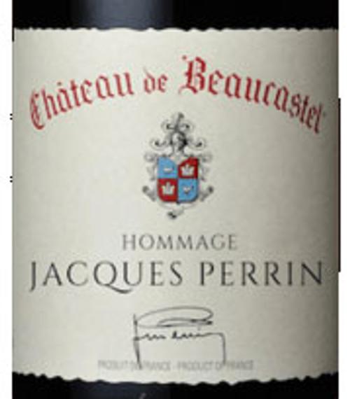 Beaucastel Châteauneuf-du-Pape Hommage à Jacques Perrin 2016