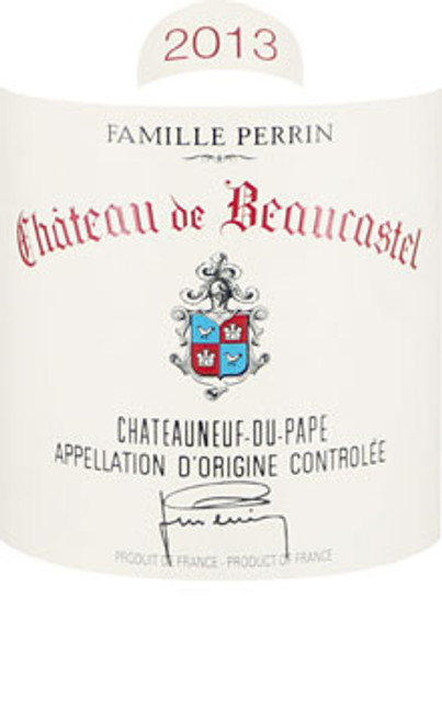 Beaucastel Châteauneuf-du-Pape 2013