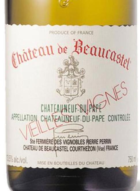 Beaucastel Châteauneuf-du-Pape Blanc Roussanne Vieilles Vignes 2015