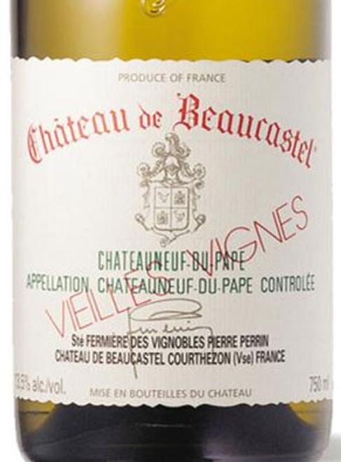 Beaucastel Châteauneuf-du-Pape Blanc Roussanne Vieilles Vignes 2017