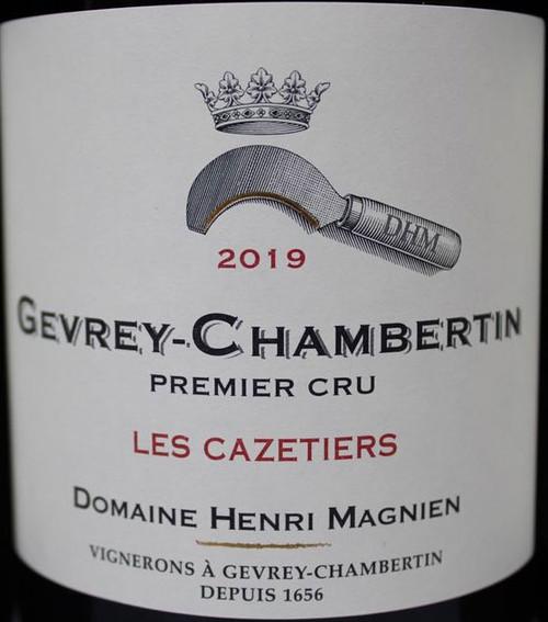 Magnien/Henri Gevrey-Chambertin 1er cru Les Cazetiers 2019
