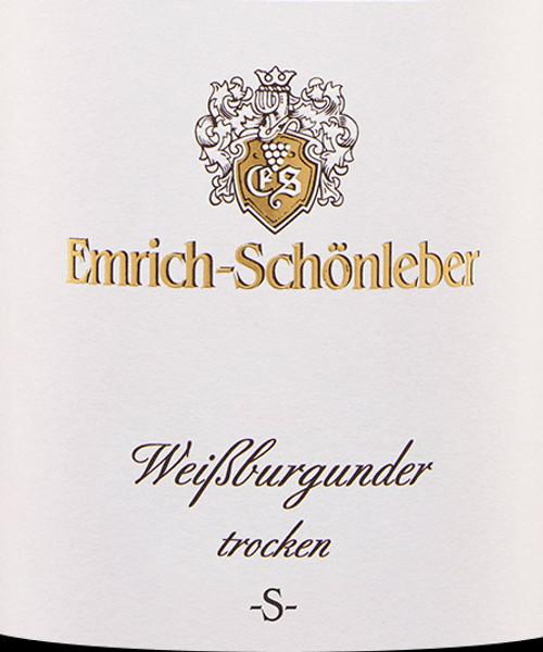 """Emrich-Schönleber Weissburgunder Trocken """"S"""" 2019"""