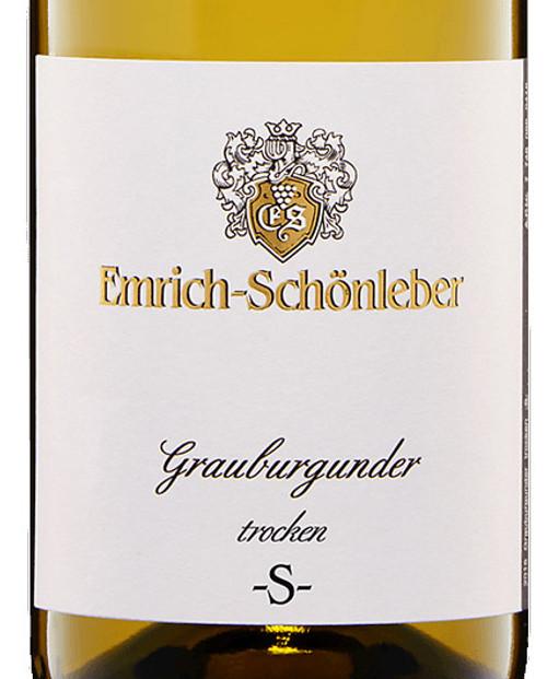 """Emrich-Schönleber Grauburgunder Trocken """"S"""" 2019"""