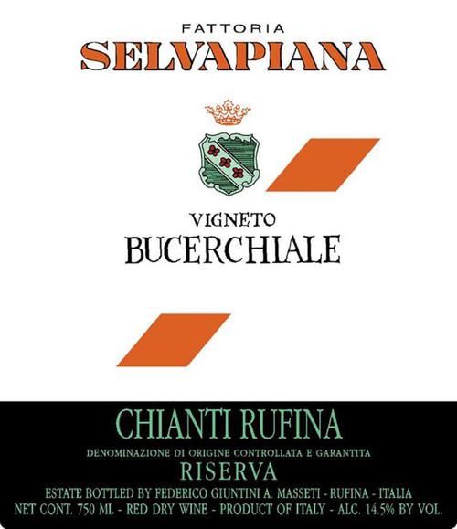 Selvapiana Chianti Rufina Vigneto Bucerchiale Riserva 2017