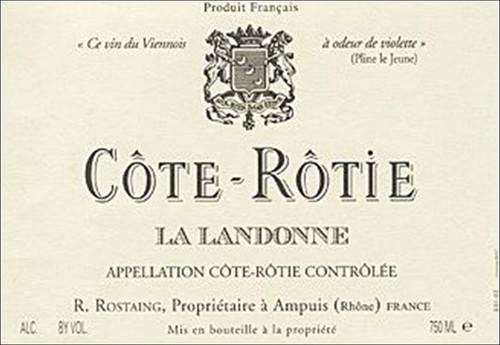 Rostaing Côte-Rôtie La Landonne 2018