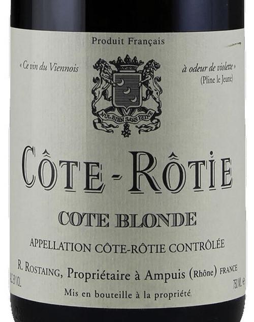 Rostaing Côte-Rôtie Côte Blonde 2018 1.5L