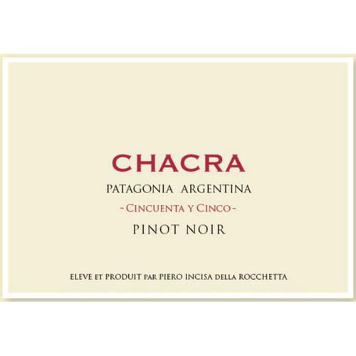 Chacra Pinot Noir Patagonia Cincuenta y Cinco 2020