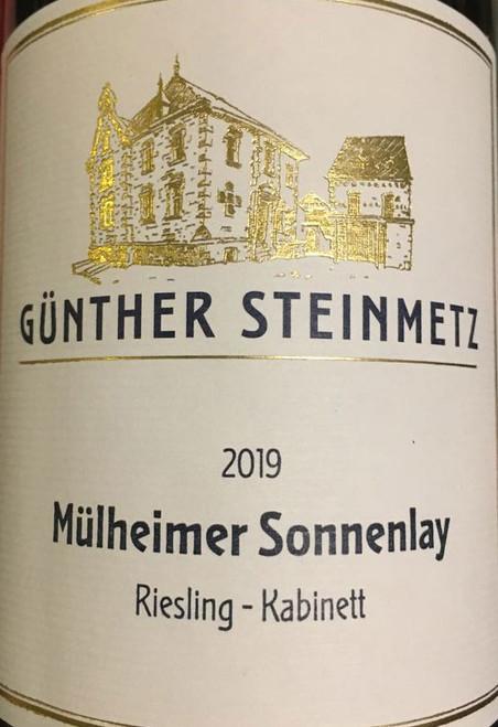 Steinmetz/Günther Riesling Kabinett Mulheimer Sonnenlay 2019