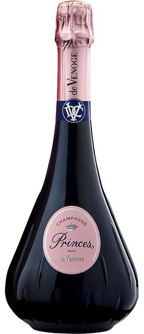 de Venoge Brut Rosé Champagne Grand Vin des Princes 2014