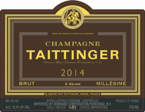 Taittinger Brut Champagne 2014