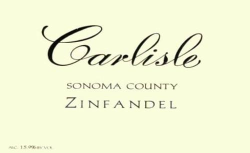 Carlisle Zinfandel Sonoma County 2019