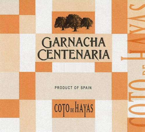 Coto de Hayas (Aragonesas) Garnacha Centenaria Campo de Borja 2018