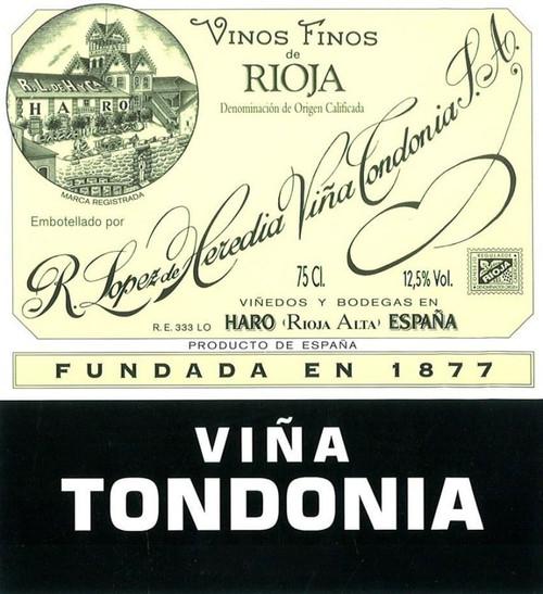 López de Heredia Rioja Viña Tondonia Gran Reserva Blanco 2001