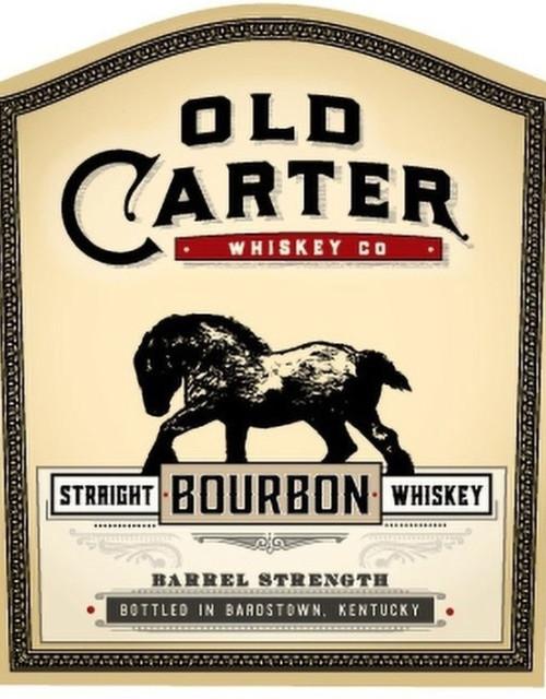 Old Carter Straight Bourbon Whiskey Barrel Strength Batch #9