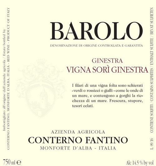 Conterno-Fantino Barolo Sorì Ginestra 2017