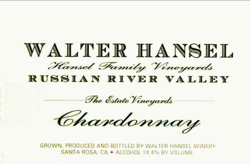 Walter Hansel Chardonnay Russian River Valley Estate 2019