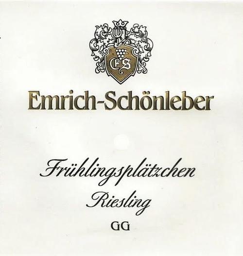 Emrich-Schönleber Riesling Monzinger Frühlingsplätzchen GG 2017