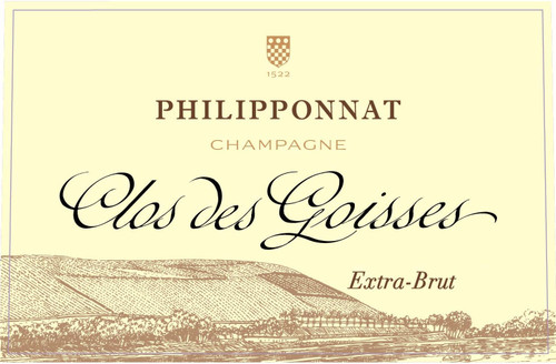 Philipponnat Extra Brut Champagne Clos des Goisses 2011