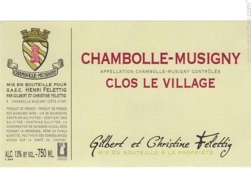 "Felettig Chambolle-Musigny ""Clos le Village"" 2019"