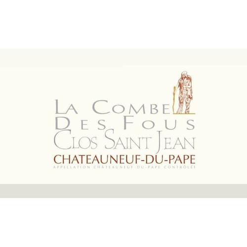 Clos Saint-Jean Châteauneuf-du-Pape La Combe des Fous 2018