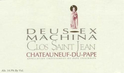 Clos Saint-Jean Châteauneuf-du-Pape Deus-Ex Machina 2018