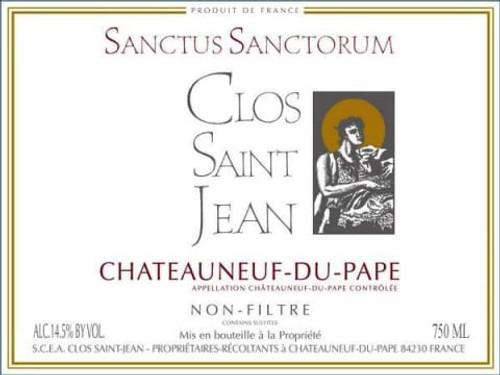 Clos Saint-Jean Châteauneuf-du-Pape Sanctus Sanctorum 2018 1.5L