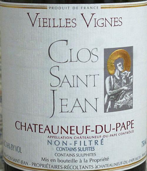 Clos Saint-Jean Châteauneuf-du-Pape Vieilles Vignes 2018 1.5L