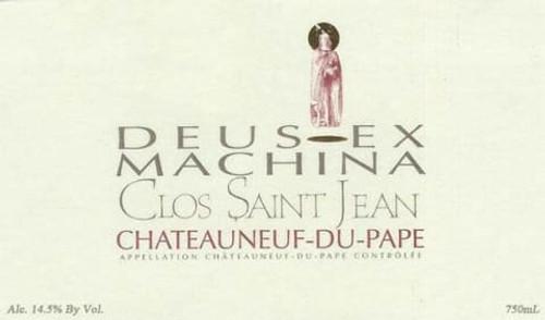 Clos Saint-Jean Châteauneuf-du-Pape Deus-Ex Machina 2018 1.5L