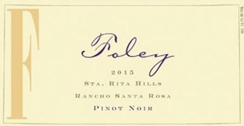 Foley Pinot Noir Sta. Rita Hills Rancho Santa Rosa 2015