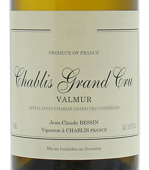 Bessin/Jean-Claude Chablis Grand Cru Valmur 2018