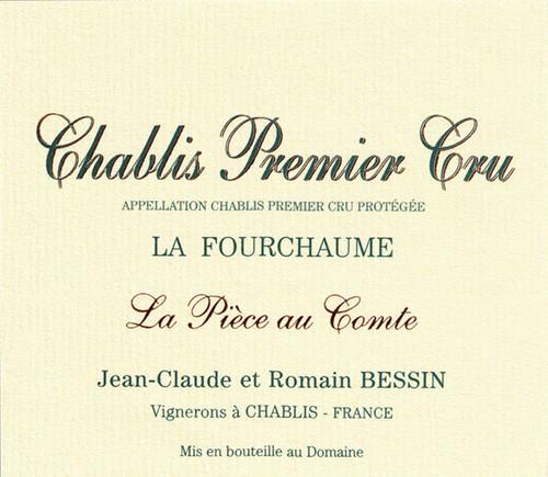 Bessin/Jean-Claude Chablis 1er cru Fourchaume La Pièce au Comte 2018