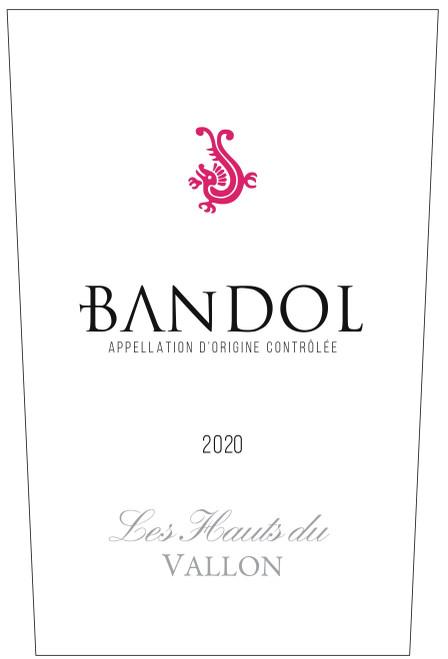 """Moulin de la Roque Bandol Rosé """"Les Hauts du Vallon"""" 2020"""