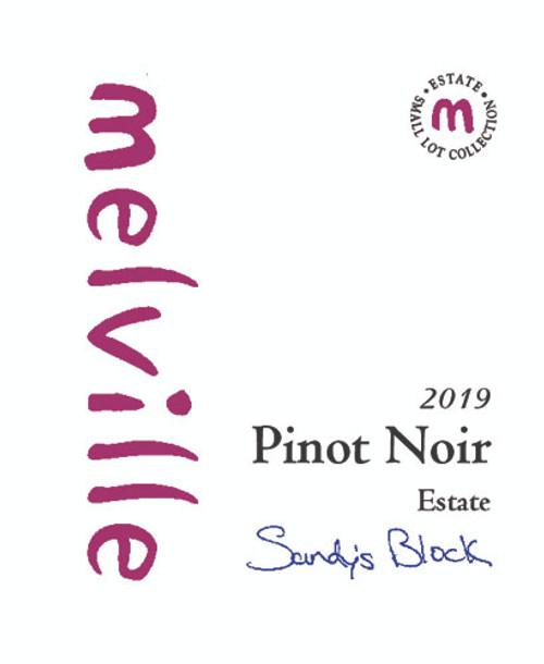 Melville Pinot Noir Sta. Rita Hills Sandy's Block 2019