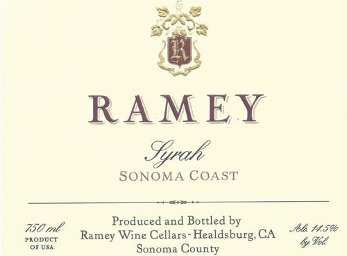 Ramey Syrah Sonoma Coast 2017