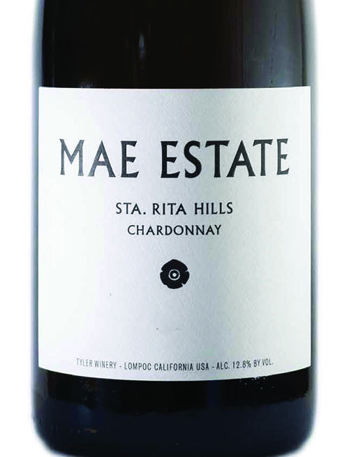 Tyler Chardonnay Santa Rita Hills Mae Estate 2019