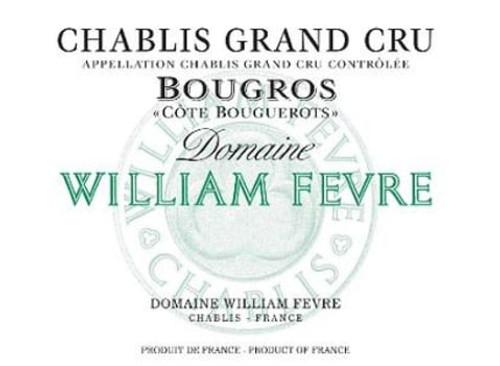 Fèvre Chablis Bougros Côte de Bouguerots 2016