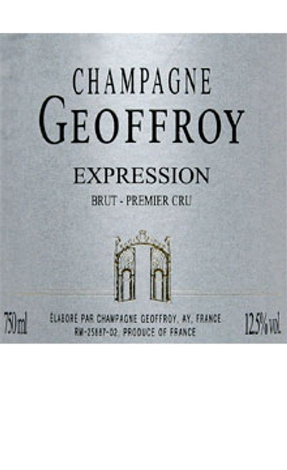 Geoffroy/René Brut Champagne Expression 1er Cru NV